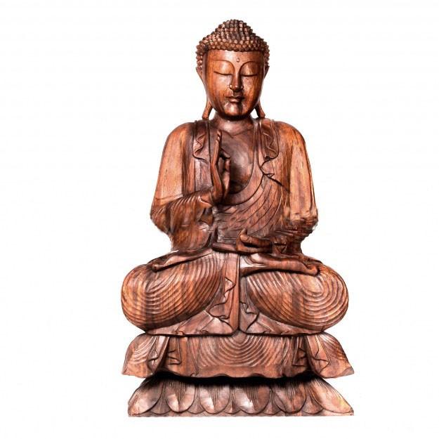«Будда» Дерево суар. Ручная работа.